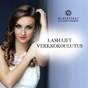 Glameffect lash lift verkkokoulutus