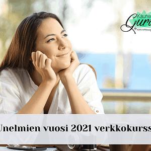 Unelmien vuosi 2021 verkkokurssi