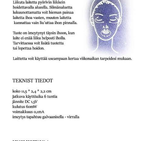 Home Skin Expert käyttöohje_2 sivu copy