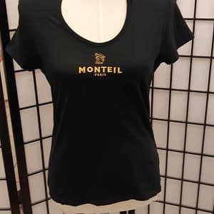 Monteil T-paita musta