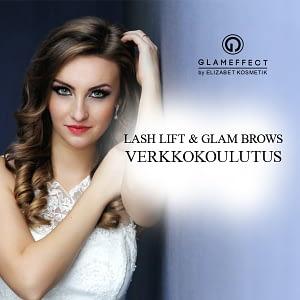 Glameffect ja glam brows verkkokoulutus
